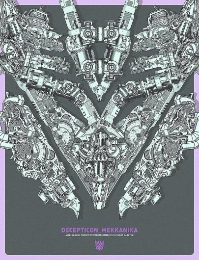 MEKKANIKA on the Behance Network #transformer #poster