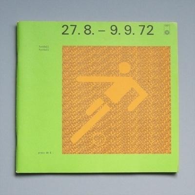 Otl Aicher 1972 Munich Olympics - Programmes #otl #olympics #aicher