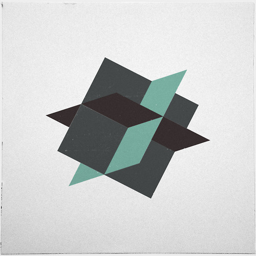 #220 Manifold – A new minimal geometric composition each day