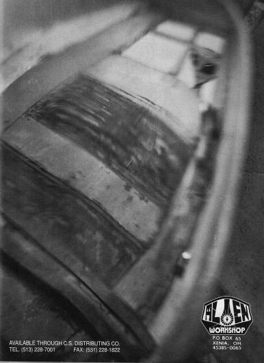 awsvisitorchrome.jpg (image) #alien #white #workshop #black #photography #1994 #and #skateboard