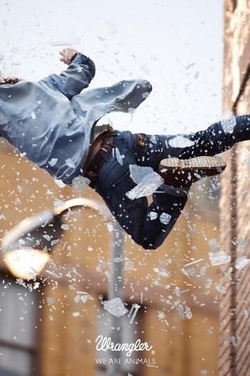 Wrangler Stunt Campaign | Fubiz™ #photography #wrangler #advertising
