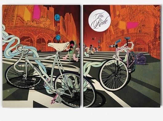 I Love Dust #bikes #catalog #design #graphic #illustration
