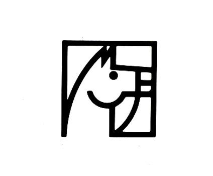Elias García Benavides / José Santamarina for Bridas 1982 Spain #logos #trademark #branding #icon #identity #vintage #logo #animal