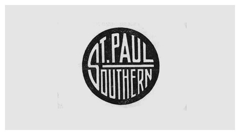 Railroad company logo design evolution #railroad #railway #logo #southern #paul