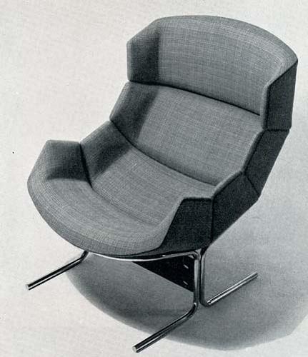 L'arredamento moderno c1964 | Flickr - Photo Sharing! #chair #1960s #1964 #modern