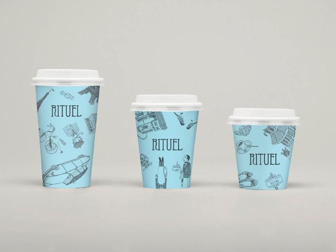 RITUEL par Christophe Vasseur #Logotype #Logo #Typography #Paris #Tokyo #Branding #Identity #French #Boulangerie #Packaging