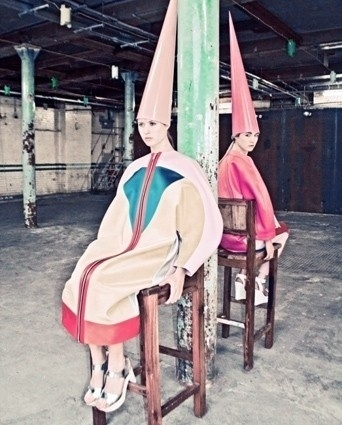 Hannah Duckworth, University of Westminster Fashion Design BA | AnOther Loves #dunces