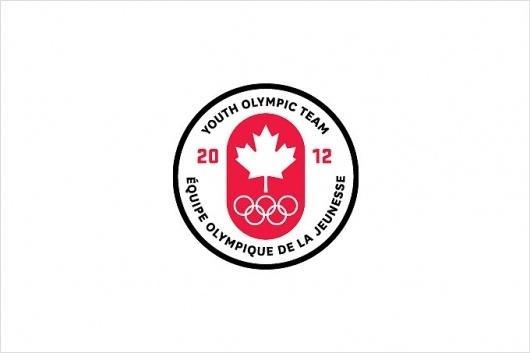 Canadian Olympic Team #mark #branding #iconography #icon #identity #logo #olympics
