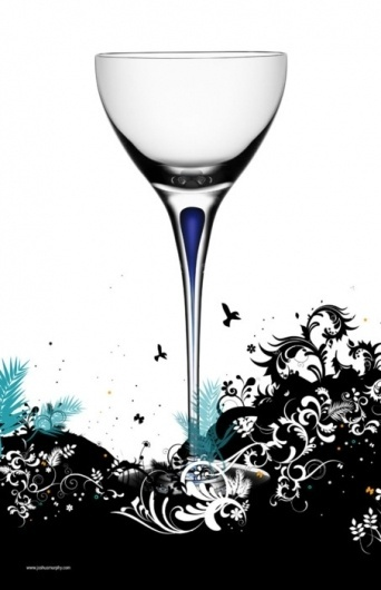 "joshuamurphy.com — ""Drink Garden"" Poster Artwork By: ""Joshua Murphy"" ... #illustration"