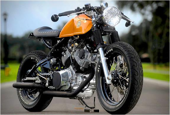 Doc Chops Yamaha Virago Cafe Racer #motorbike #racer #cafe #vintage #yamaha #virago #motorcycle