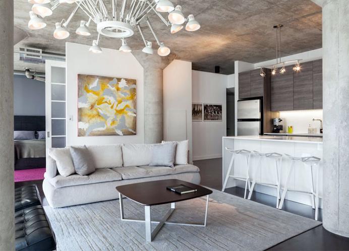 Small but Attractive Modern Loft in Toronto - #decor, #interior, #homedecor,