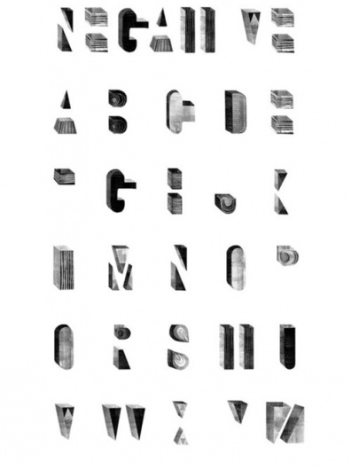 Typeverything.com Reverse poster by Maggie Li. - Typeverything #typography