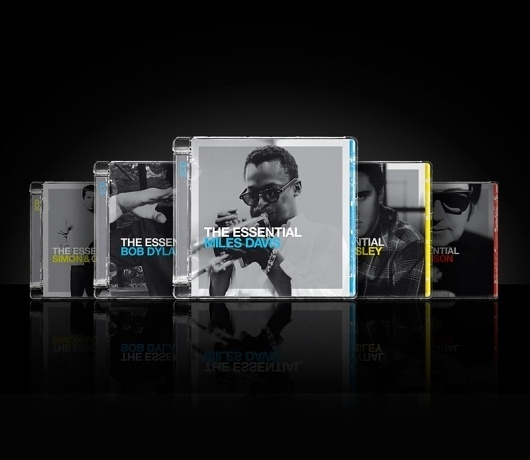 FLUID | Design, Branding, Advertising | + 44 (0)121 212 0121 #album #jewelcase #jazz #print #design #rock #color #sony #coded