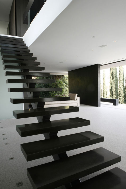 Openhouse / XTEN Architecture #stairs #architecture #black #gray