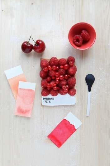 Griottes, palette culinaire #photography #food