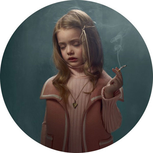 Smoking Kids portraits by photographer Frieke Janssens #smoke #girl #kid #child #photography #portrait #cancer #smoking