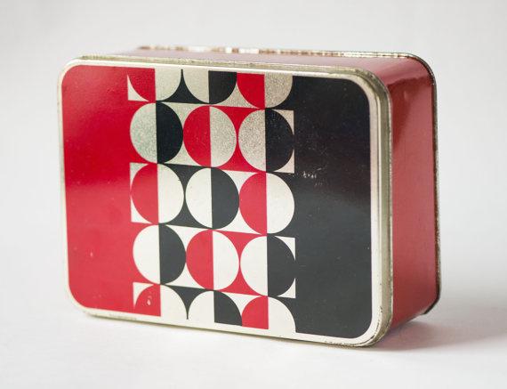 Soviet Era Lunchbox #lunchbox #pattern