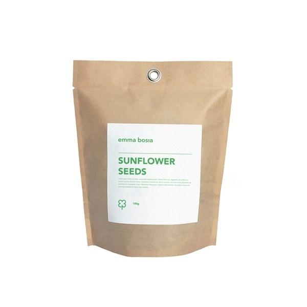 Emma Bosia Gardening #mark #recycle #bag #gardener #flower #logo #paper #package