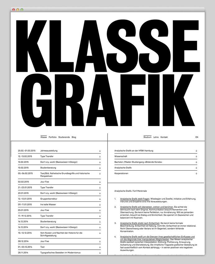 Websites We Love — Showcasing The Best in Web Design #klasse #layout #web #grafik
