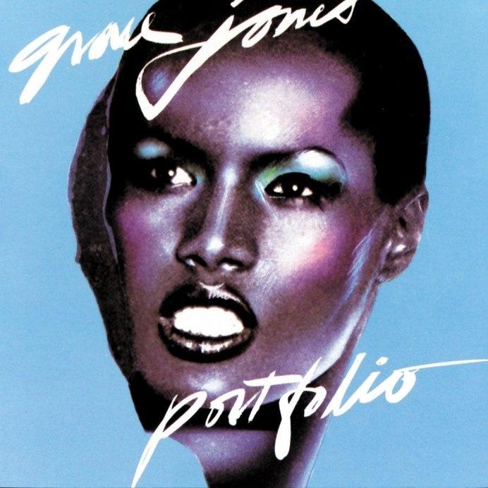 Bitterness Personified — Three Grace Joneses and a Divine:This exhibit (7... #album #jones #script #portfolio #grace #cover #brush
