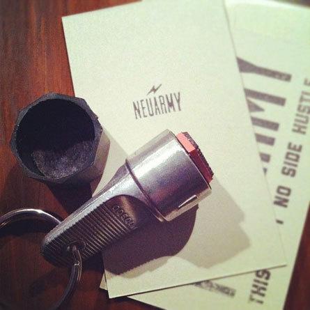 Neuarmy #card #stamp #keychain