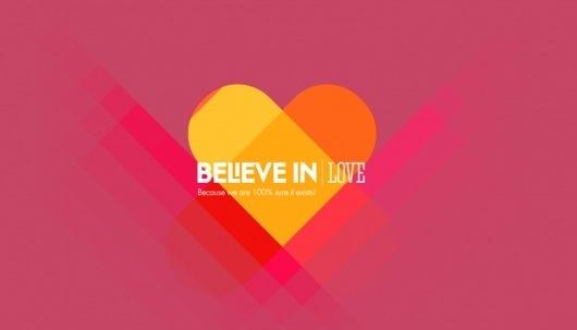 Looks like good Microsite by Soleil Noir #believe #in #vector #love