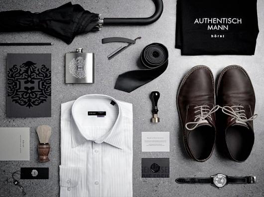 Hörst | Identity Designed #fashion #horst