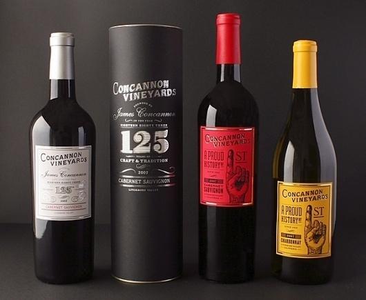 » Concannonat Beau Monroe #packaging #silver #wine #foil