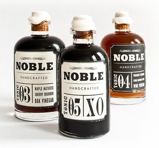 noble1.jpg (538×503) #packaging #noble #tonic #label