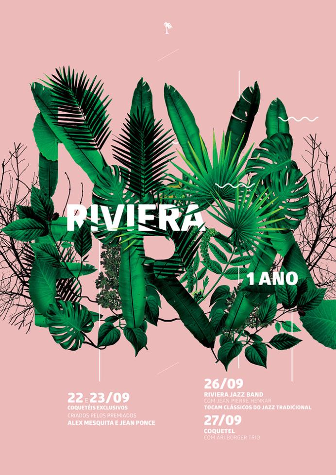 Riviera Poster #riviera #tropical #brazil #leaf #botanic