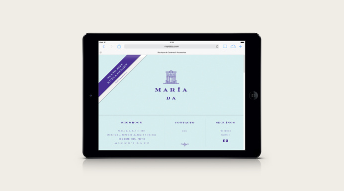 María BA Brand Development