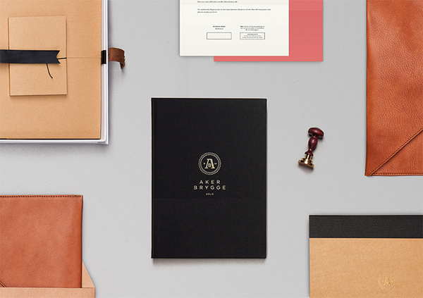 Bleed — Aker Brygge #identity #stationery
