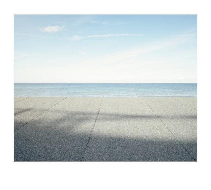 roof, sea, sky, landscape, minimal, #sky #landscape #roof #sea #minimal