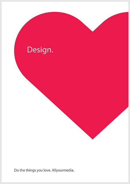 We love design. www.allyourmedia.nl #design #love #webdesign