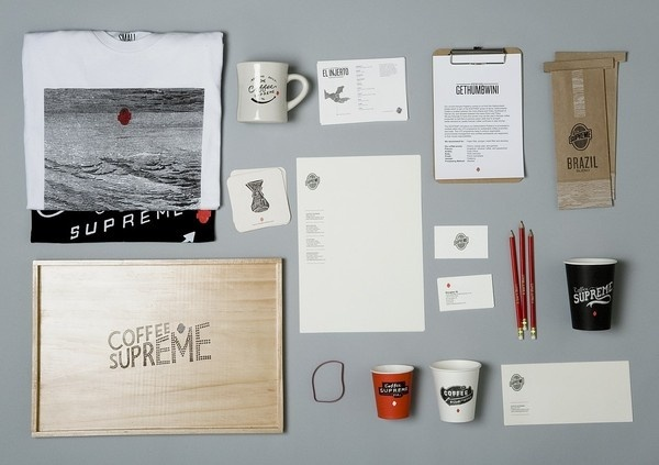 Best Awards Harvest Design. / Coffee Supreme / re brand #zealand #folk #branding #identity #coffee #new