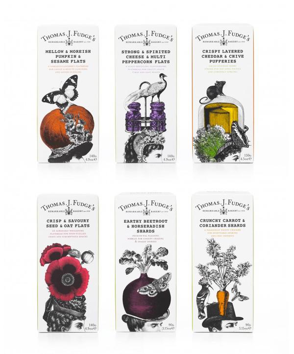 Thomas J. Fudge #bakery #fudge #branding