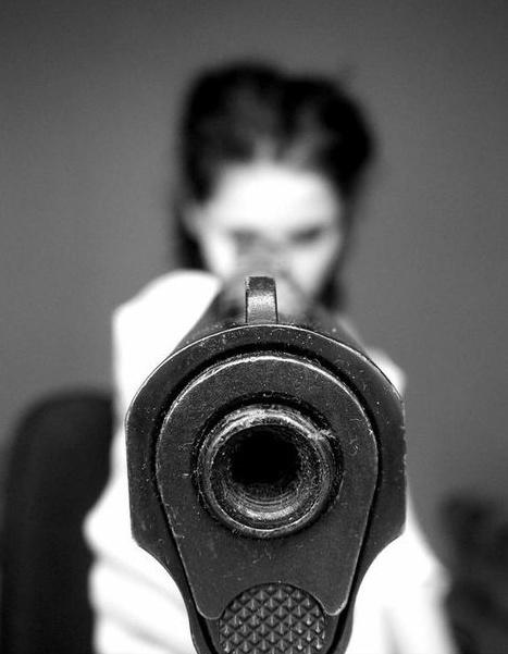 I don #gun #woman
