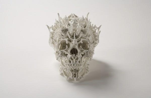 Katsuy Oaoki #oaoki #katsuy #skull #white