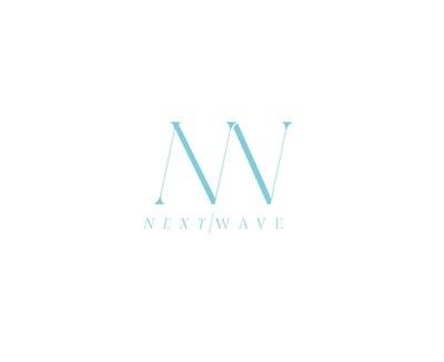 Next Wave Logo #cox #j #identity #logo #declan