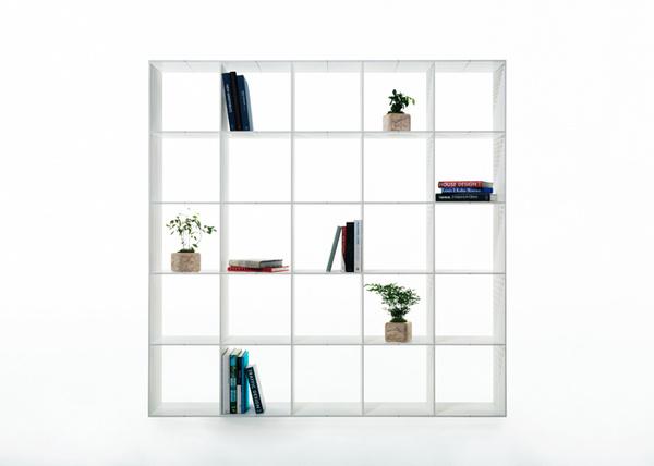 Thread by Mikiya Kobayashi #bookshelf #minimalist #design #minimal