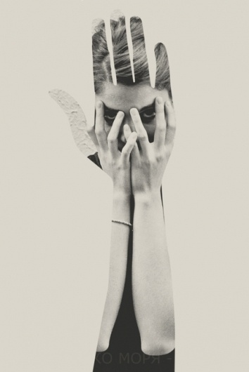 Crop on the Behance Network #photography #hand #collage