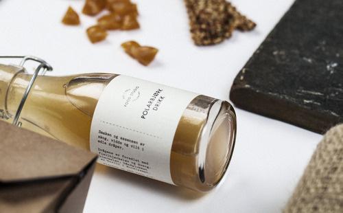 Polarbjork via Convoy #bottle #packaging #alcohol #design #graphic #clean #minimalist #typography