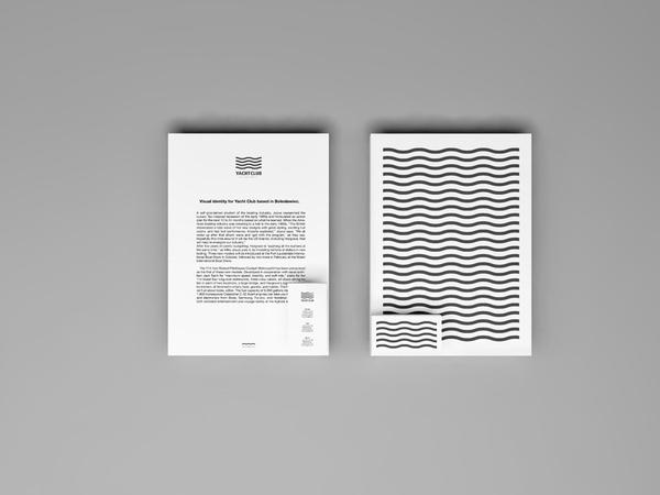 Yacht Club Bolesławiec on the Behance Network #stationary #design #graphic #simple #identity