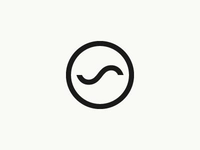 Dribbble - Sound by Tony Lane #mark #white #black #wave #sound #minimal #music #logo