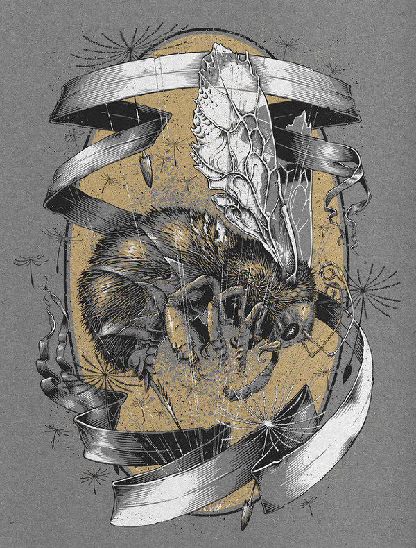 Harvest, Part 2 The Art of Brian Luong #print #illustration