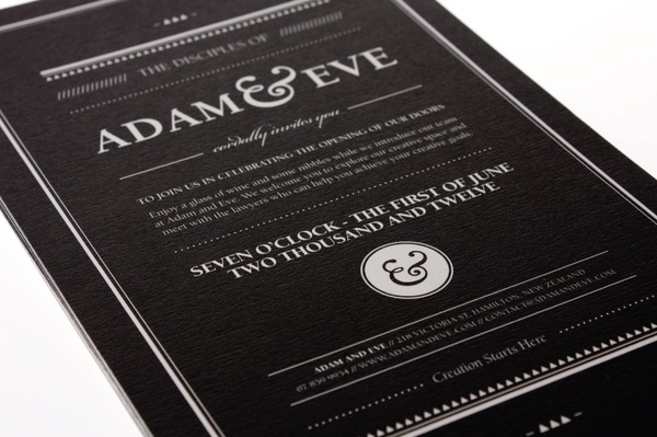 Adam & Eve Law Firm Branding on the Behance Network #identity #brochure