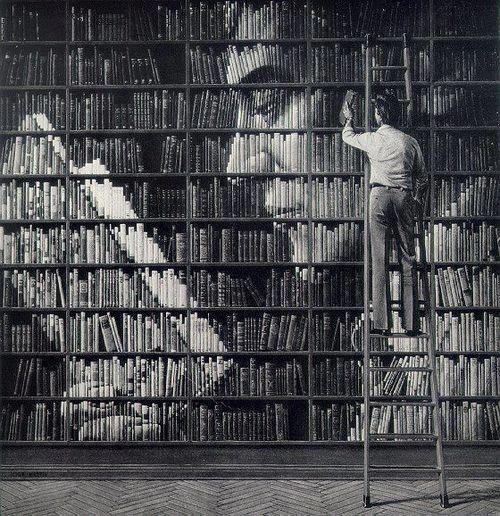 Books on Books by John Martin #illustration #books #art
