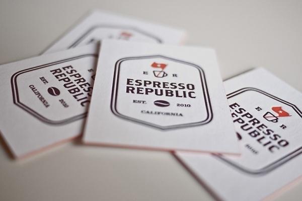 espresso_republic_03.jpg (775×517) #business #card #bean #identity #coffee
