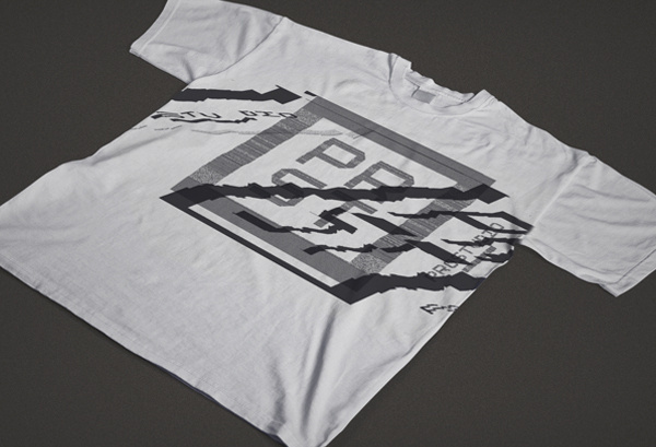 ProStudio Branding on Behance #maandesign #shirt #glitch #prostudio #prst