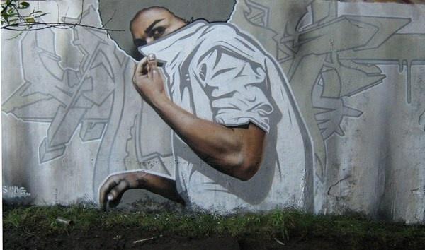 Graffiti street art #graffiti #realism #street #art #realistic